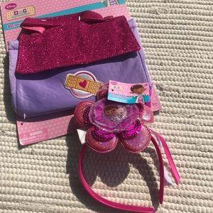 Doc McStuffins Bag & Headband Set
